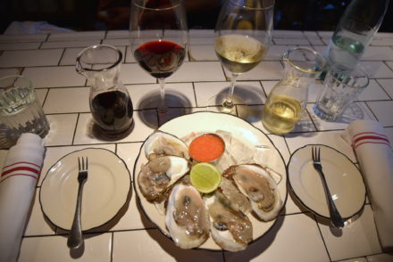 Oysters at Briciola Wine Bar NYC foodie