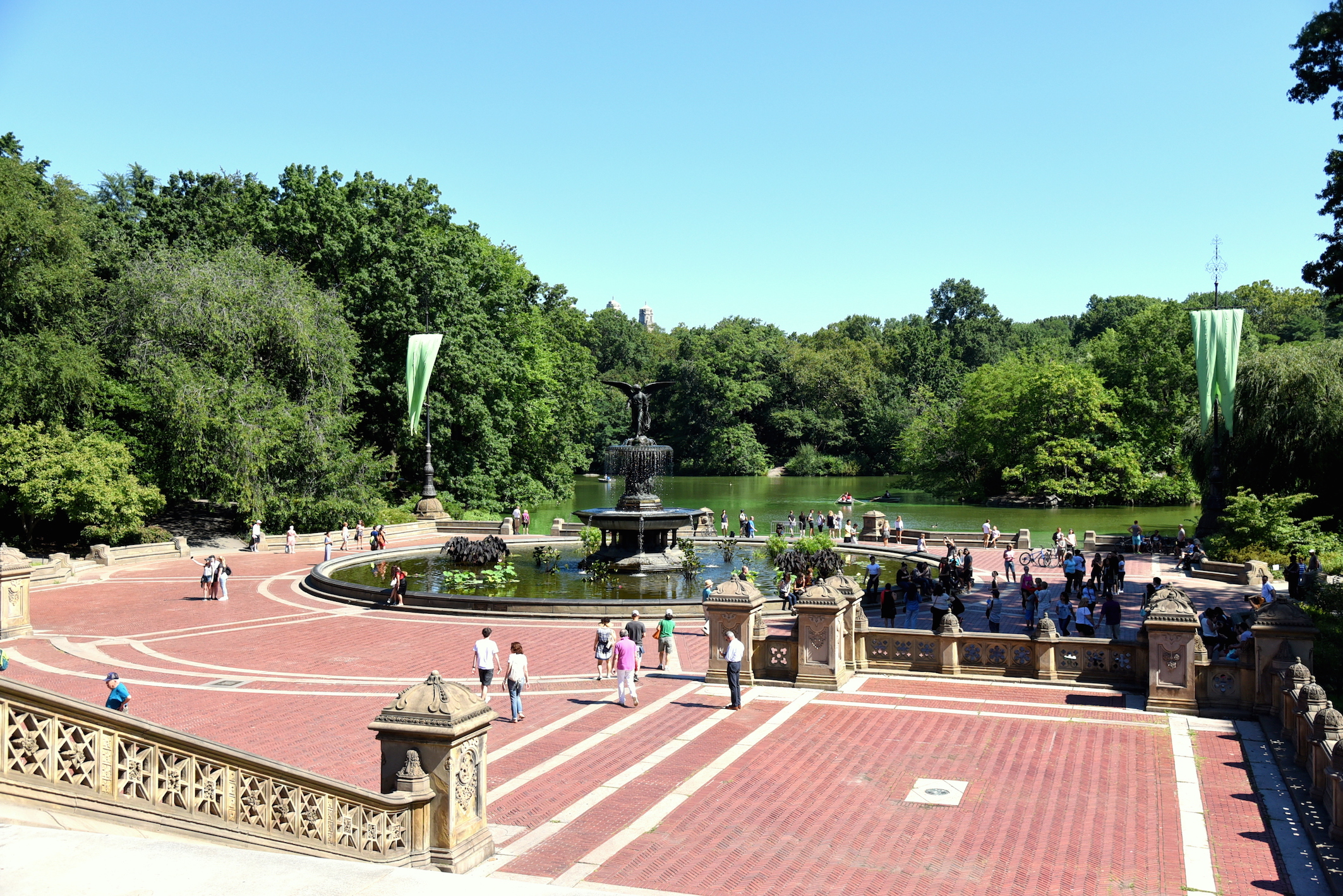 Summer in New York in Central Park