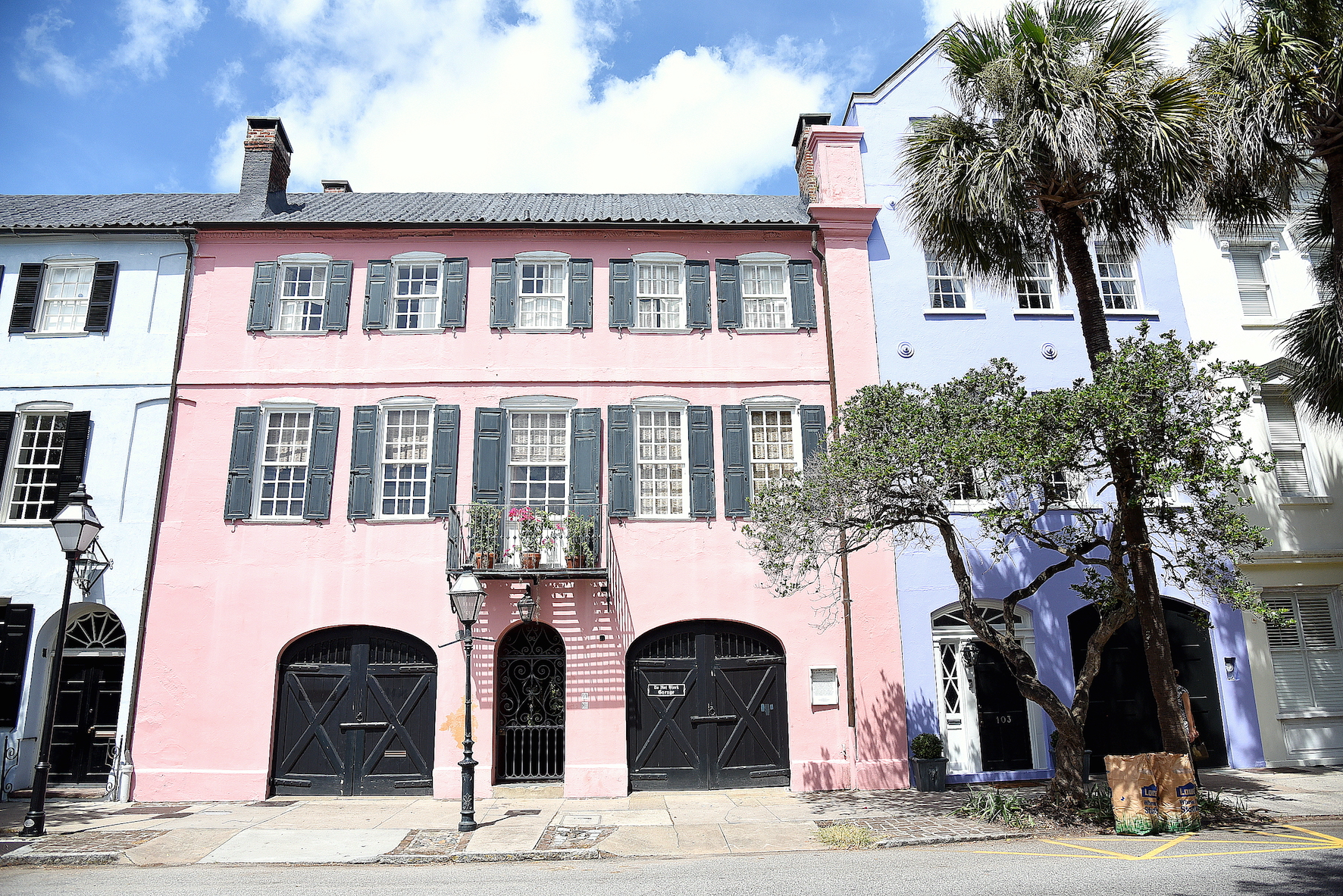 Visiter charleston en caroline du sud en une for Charleston row houses