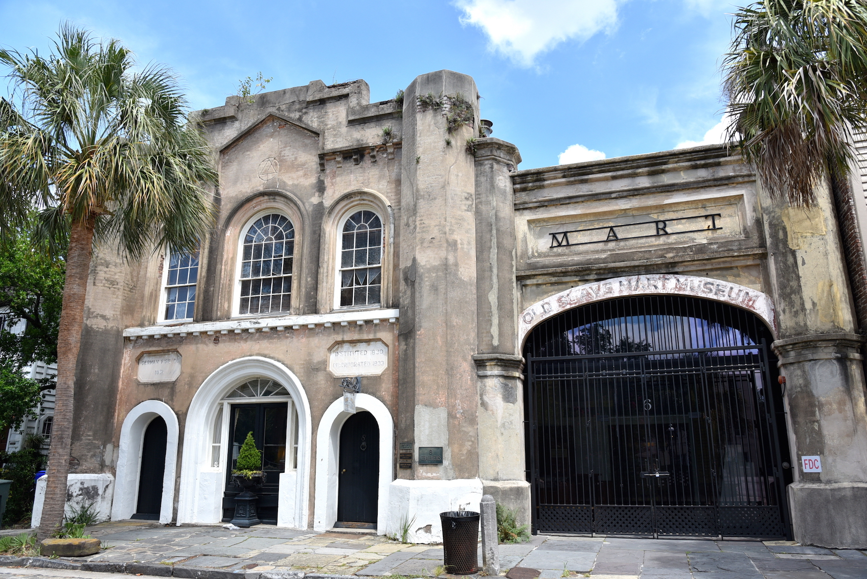 Old Slave market in Charleston, South Carolina