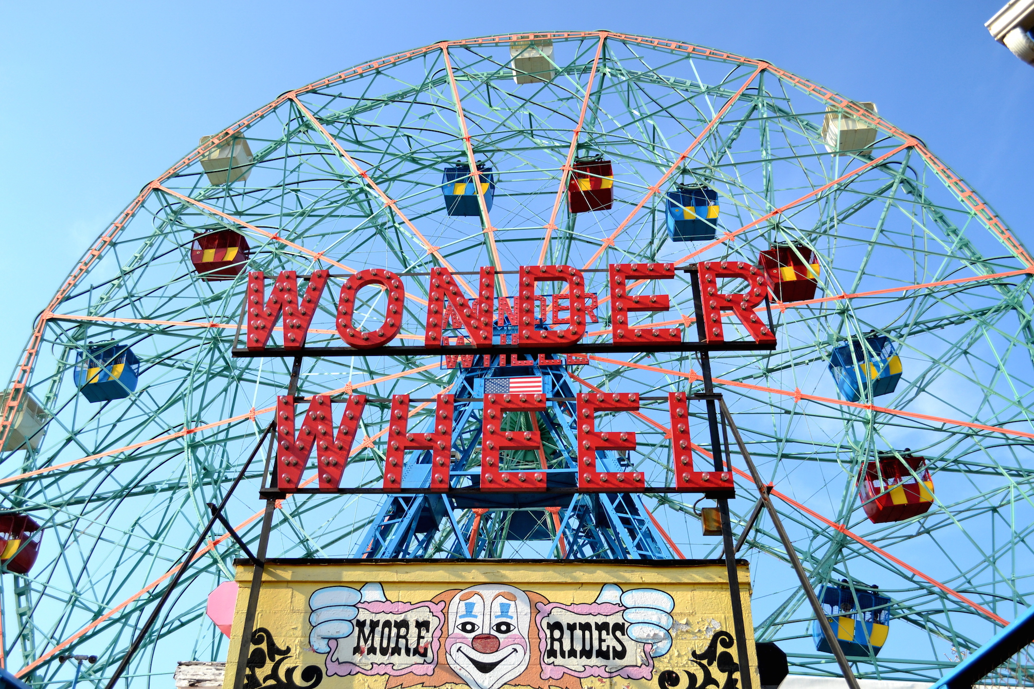 Wonder Wheel Coney Island NYC