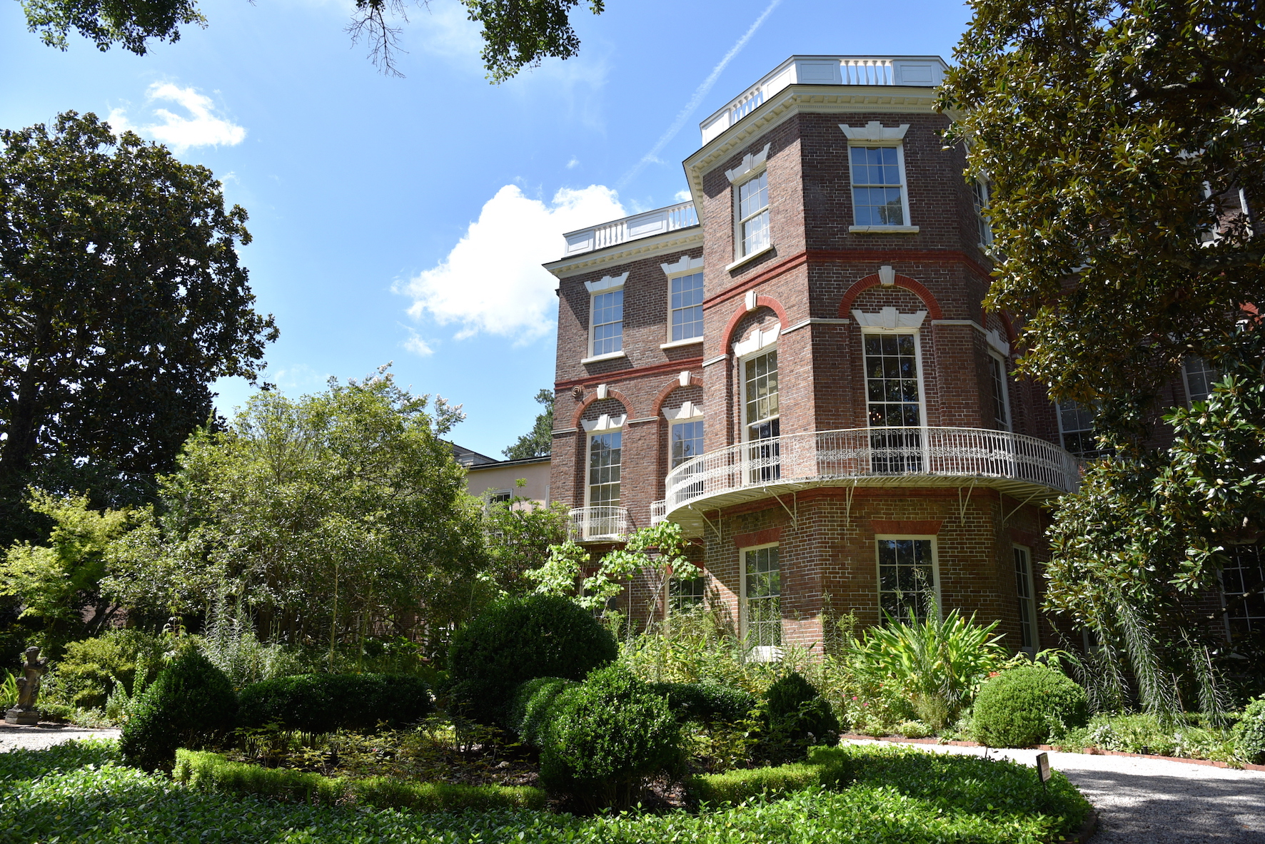 Nathaniel Russel house tour in Charleston, SC