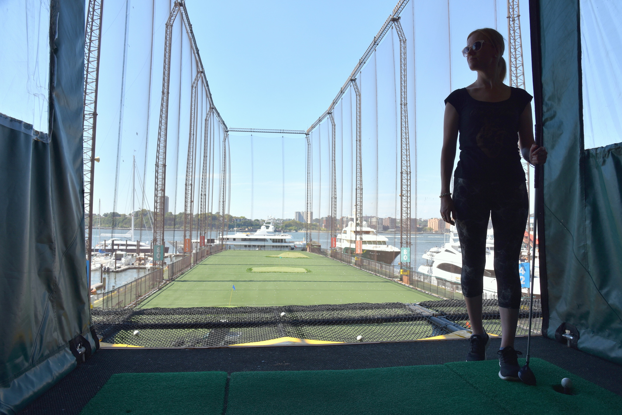 Où faire du golf à New York, Chelsea Piers