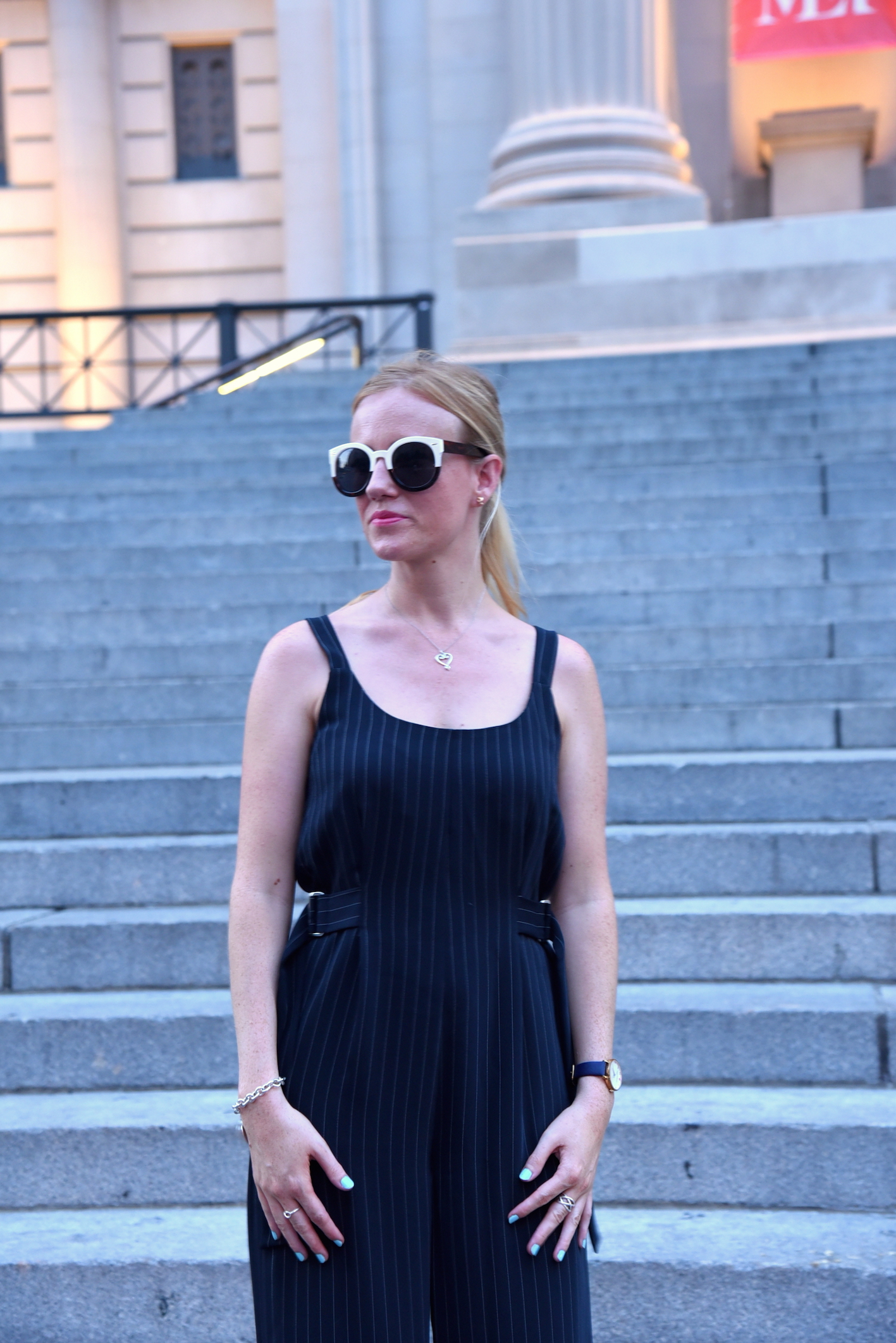 OOTD Topshop Style Jumpsuit Fashion blog New York