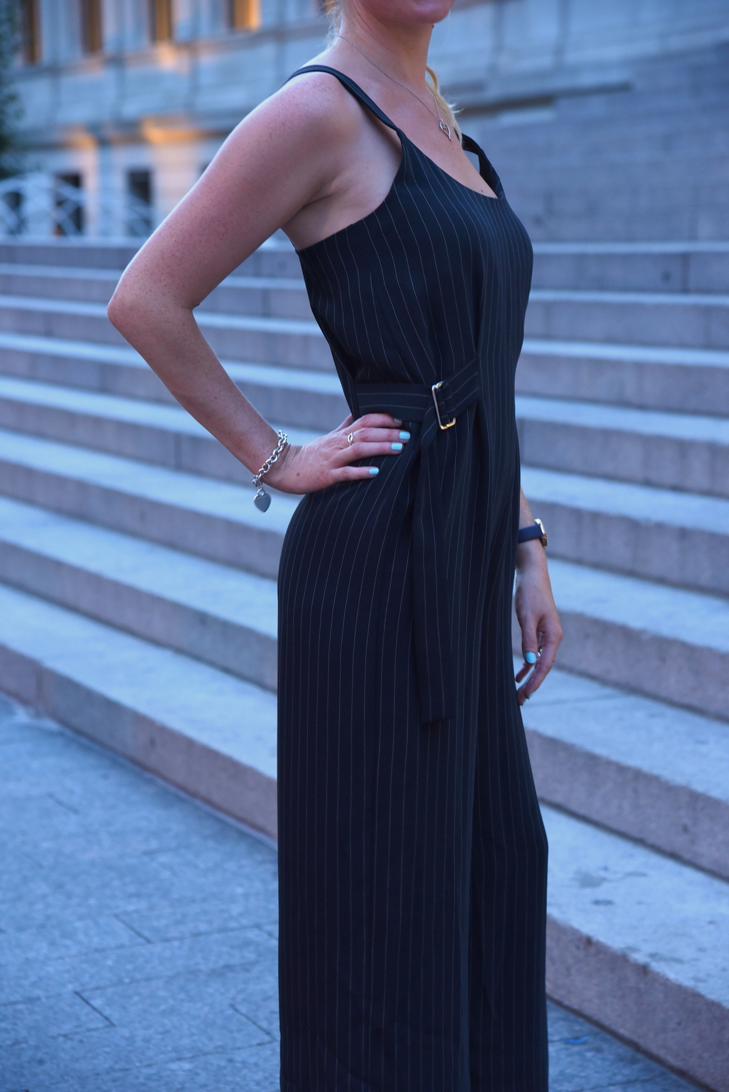 Topshop style jumpsuit fashion blogger look new york city