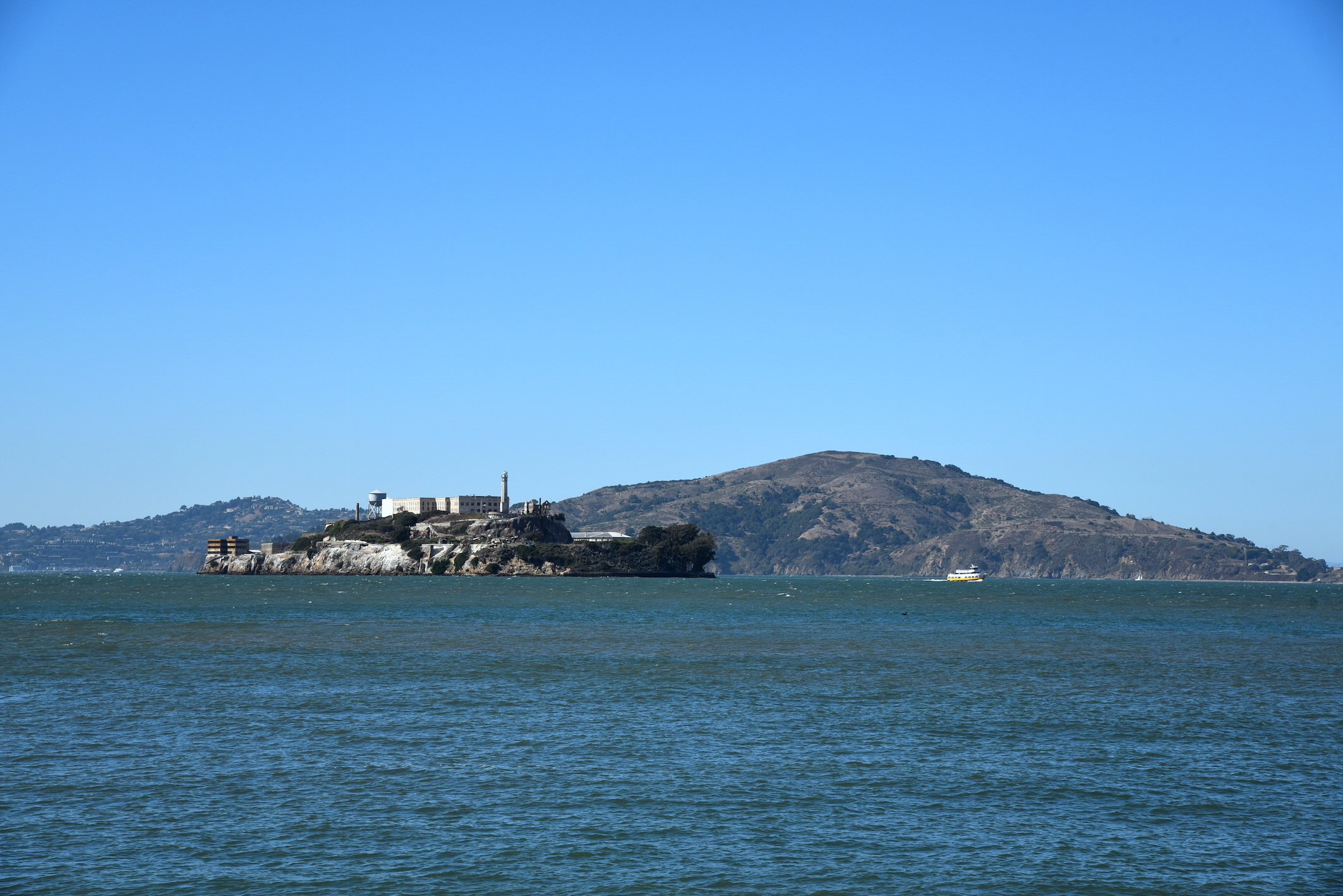 Alcatraz in San Francisco California