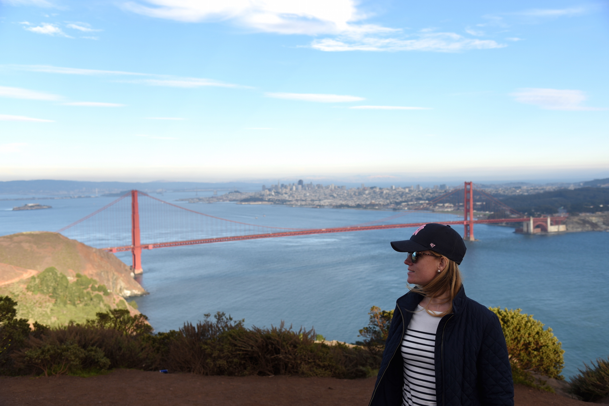 Fashion Lifestyle Travel blogger visiting San Francisco