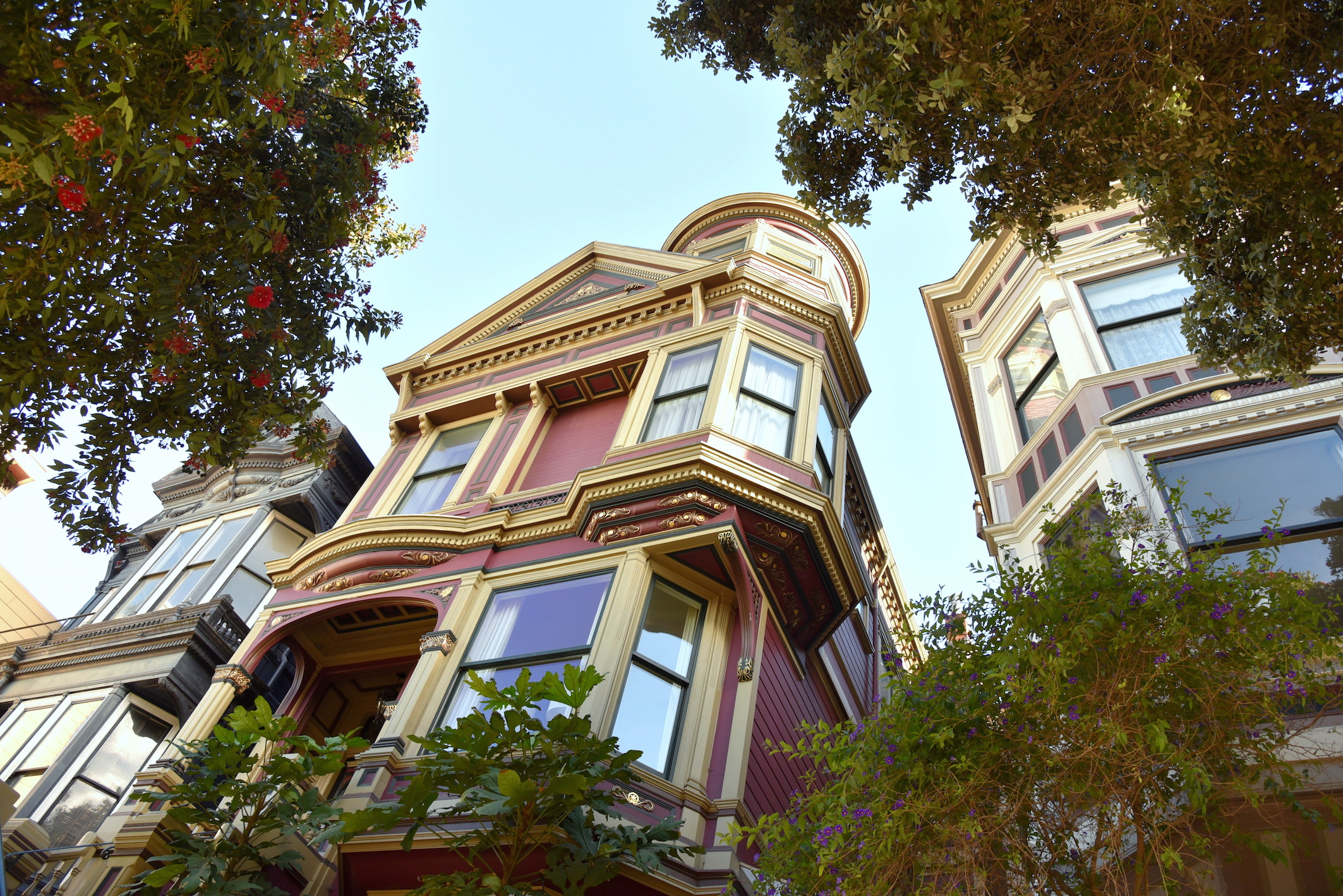 Historic Houses San Francisco Travel