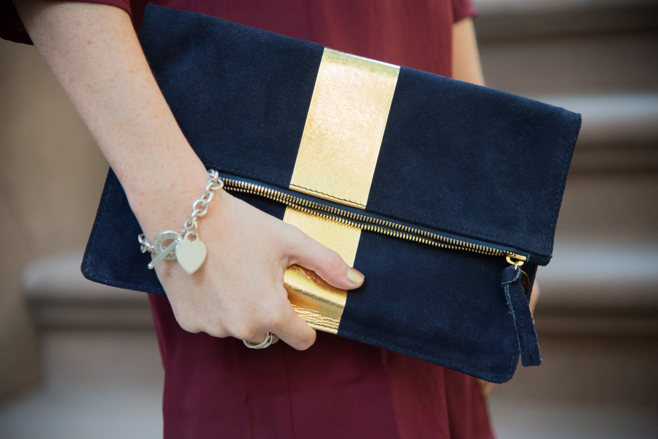 VogueVIP Clare V clutch Fashion blogger New York