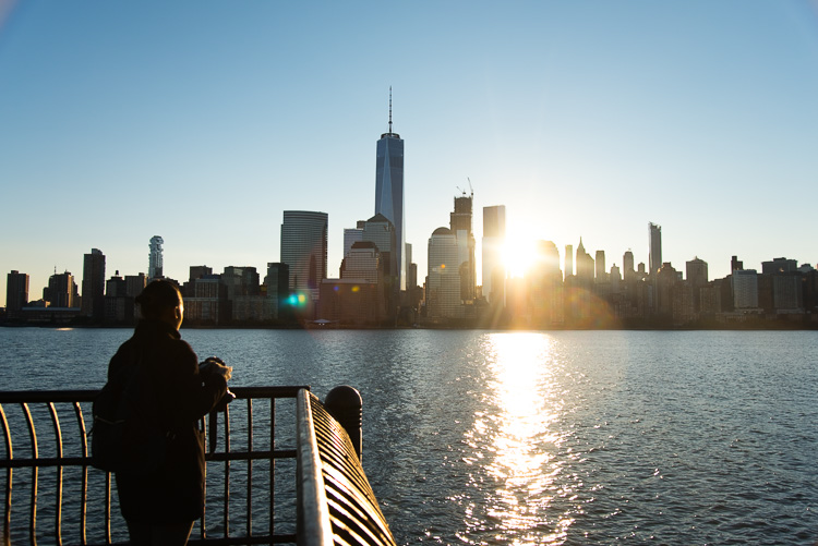 We Love New York Sunrise sur Manhattan