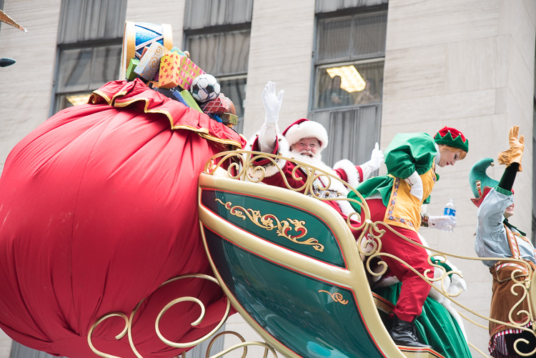 Santa Claus Macy's Thanksgiving Parade in New York photos