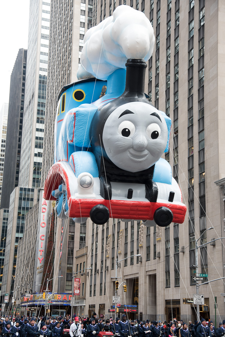 Thomas Balloon Macy's Parade Thanksgiving New York 2016