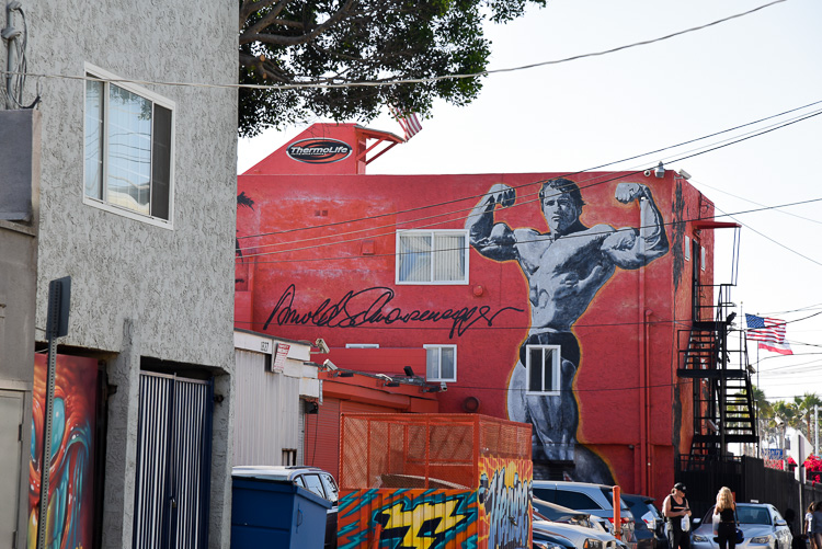 Muscle beach Venice Beach Los Angeles