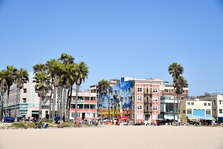 Travel blog Los Angeles Venice Beach