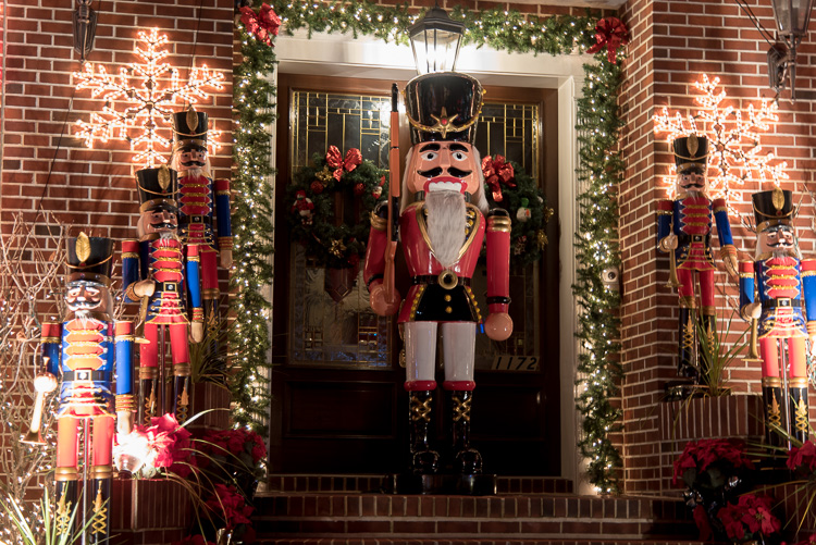 Dyker Heights New York Christmas decorations