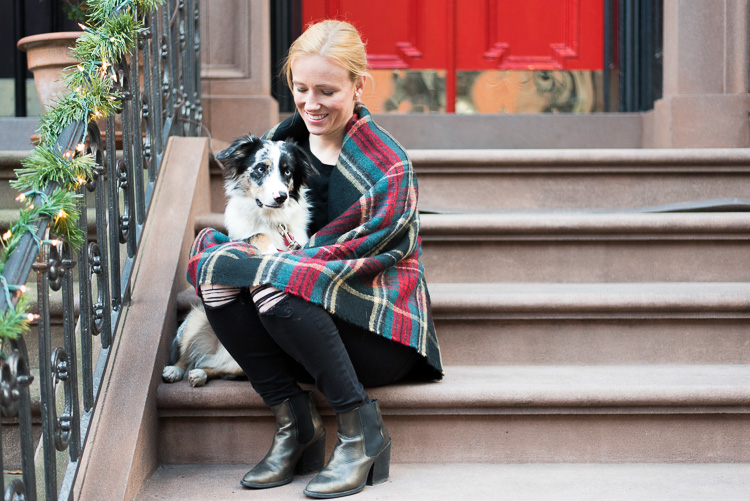 NYC Fashion Blogger dog OOTD New York mybigapplecity