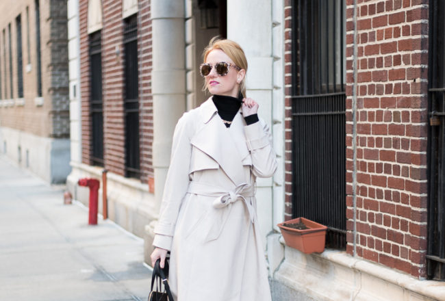 French Fashion blogger in New York