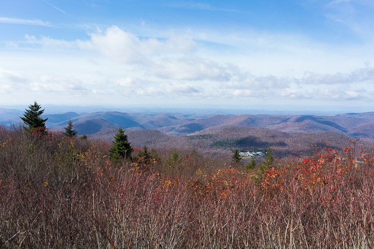 Vermont mount Equinox travel hike