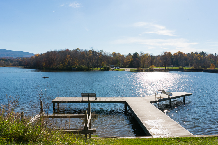 Visit Lake Paran Vermont travel blog