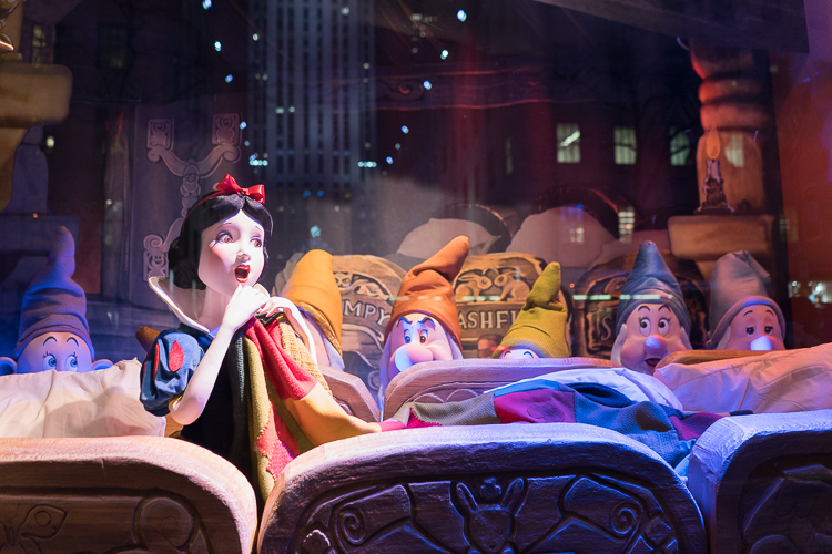Snow White Holiday Windows NYC Saks