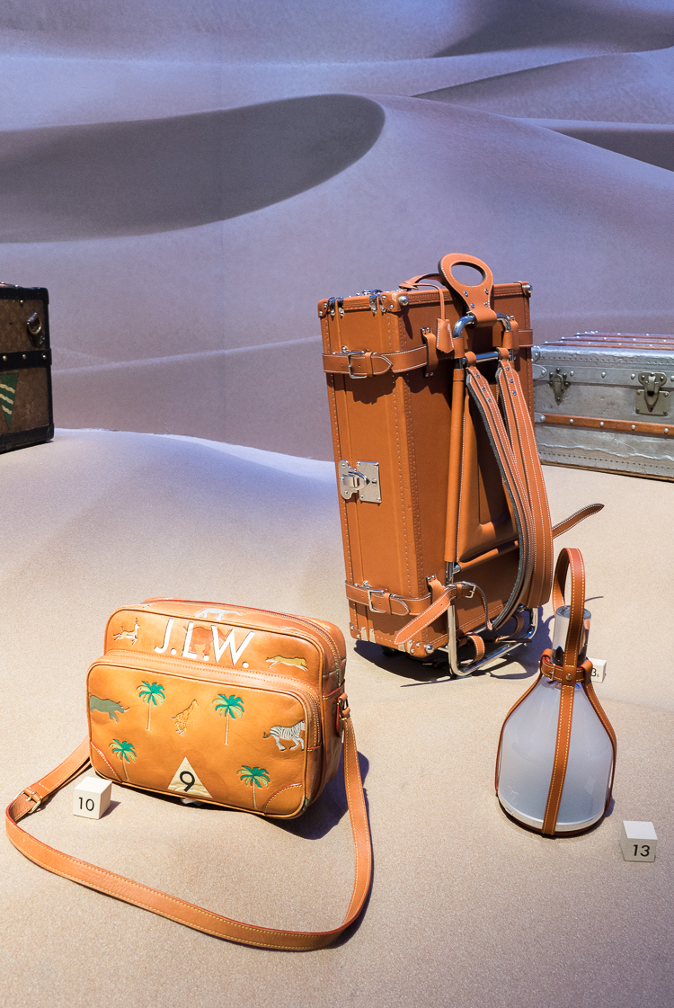 Louis Vuitton art of travel exhibiton NYC blogger 2018