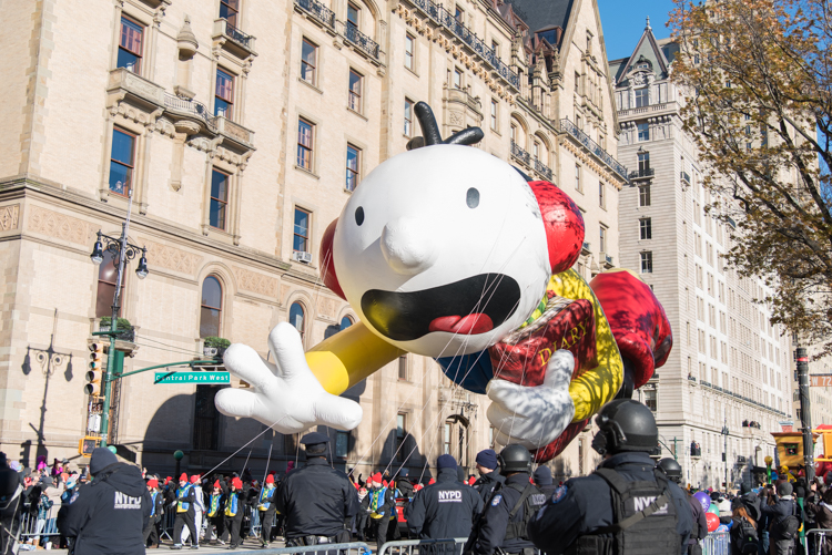 Macy's Thanksgiving parade 2018 New York City NYC