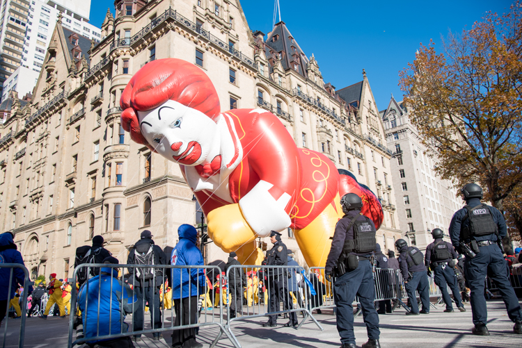 Macy's Thanksgiving parade ballons 2018 New York City
