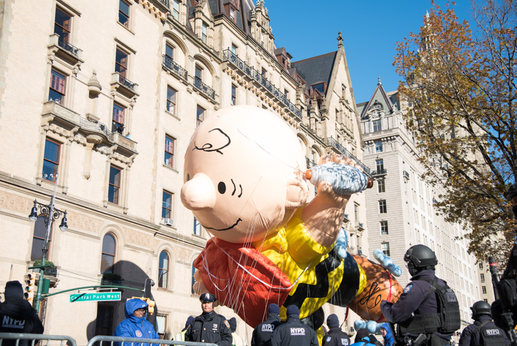 NYC Macy's Thanksgiving parade 2018 New York City
